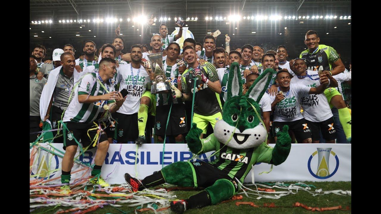 Brasileirão Série B 2017: o título do América-MG na Arena Independência