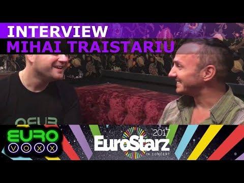 Mihai Traistariu interview (Romania Eurovision 2006) | #EurostarzInConert #Eurovoxx