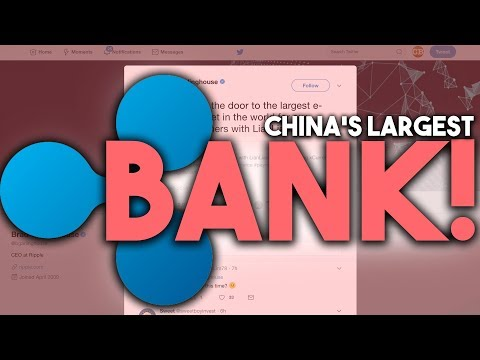 ONE OF THE BIGGEST BANKS OF CHINA PARTNERS WITH RIPPLE (XRP)! - WHAT COULD THIS MEAN?