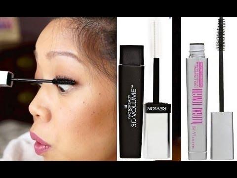 NEW Maybelline illegal Length Mascara & Revlon Photoready 3D Mascara First Impression
