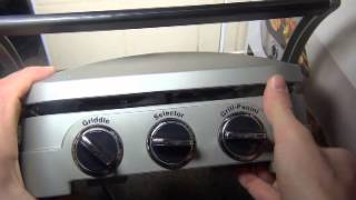 Cuisinart Gr4cu Griddle/grill/panini Press Review