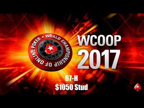 WCOOP 2017 Event 67-H $1050 Stud Replay