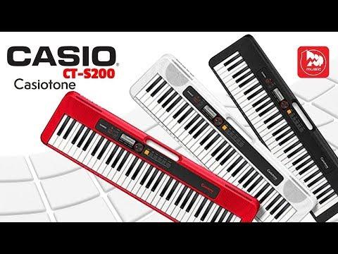 Синтезатор CASIO CT-S200 ( новая модель серии Casiotone)