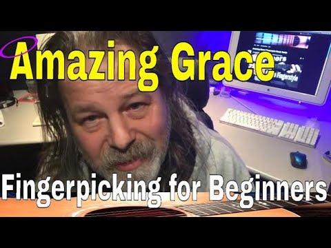 Amazing Grace Fingerpicking For Beginners Quick Start Lesson 2