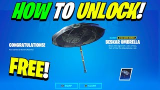 How To Win Mando's Bounty LTM & Unlock the FREE Beskar Umbrella in Fortnite Batte Royale!