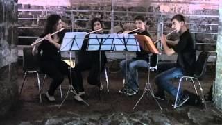 Les Flȗtes Flamboyantes alle Terme Achilleane di Catania
