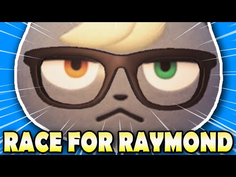 😲 FULL ISLAND MAZE!  WINNER GETS RAYMOND! | Animal Crossing New Horizons