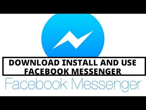How To Download Install And Use Facebook Messenger | Video Tutorial By TechyV