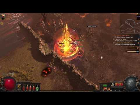 Path of Exile: Fall of Oriath BETA - Flame Totem Chieftain - Ep 12