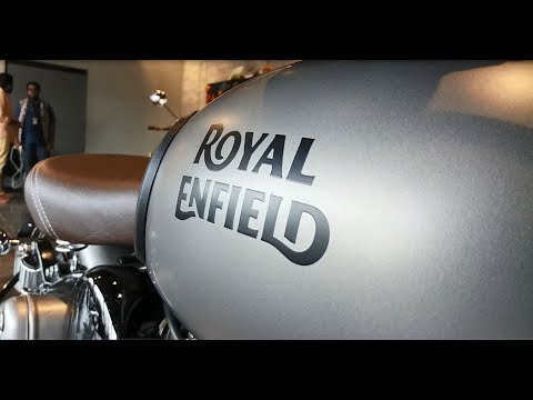 Royal Enfield Classic STEALTH BLACK and GUNMETAL GREY|Launched in Showroom|Detail Walkaround 1080p