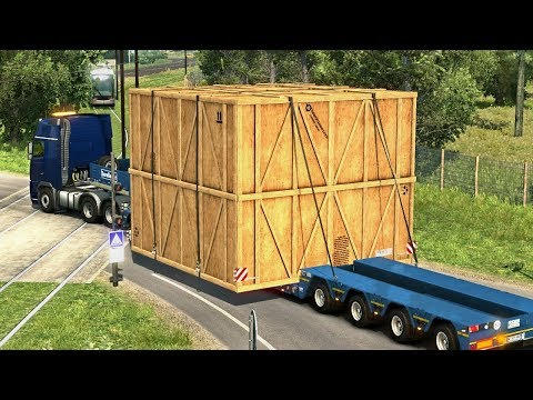 "SUPER WIDE LOAD ""CONVOI EXCEPTIONNEL""  