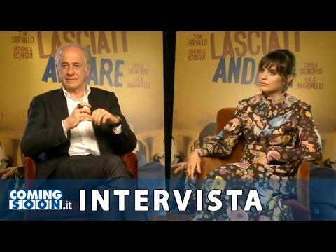 Lasciati andare: intervista esclusiva di Coming Soon a Toni Servillo e Verónica Echegui | HD