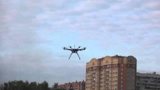 Съемка с воздуха в Москве. Киностудия Димарт. Часть 3.