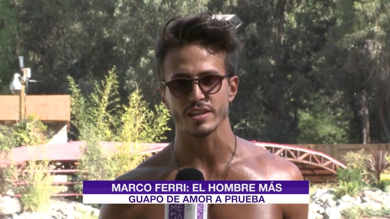MARCO FERRI ELEGIDO EL MÁS GUAPO DE AMOR A PRUEBA - YouTube