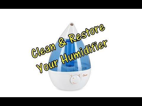 DIY Cleaning / Restoring an Ultrasonic Humidifier (QUICK & Cheap!)