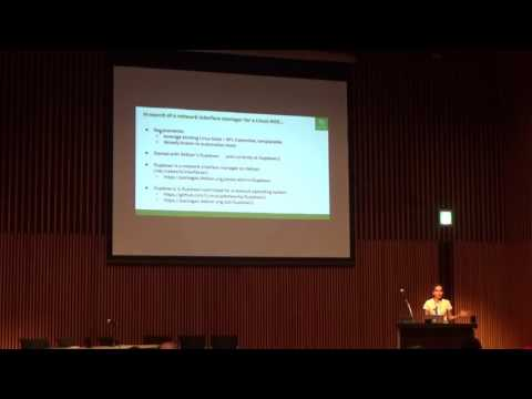 Network interface configuration on a Linux NOS - Roopa Prabhu