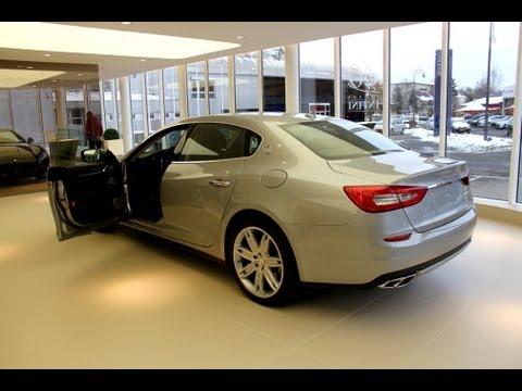 2013 Maserati Quattroporte VI in detail