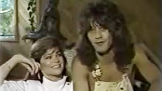 Edward Van Halen & Valerie Bertinelli - Interview 1982