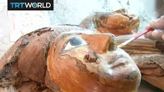 New Egyptian Discovery: Mummies unearthed from a 3500-year-old tomb