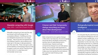 Google I/O 2014 Android App — L Developer Preview