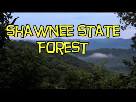 Backpacking Shawnee State Forest - Ohio Hiking