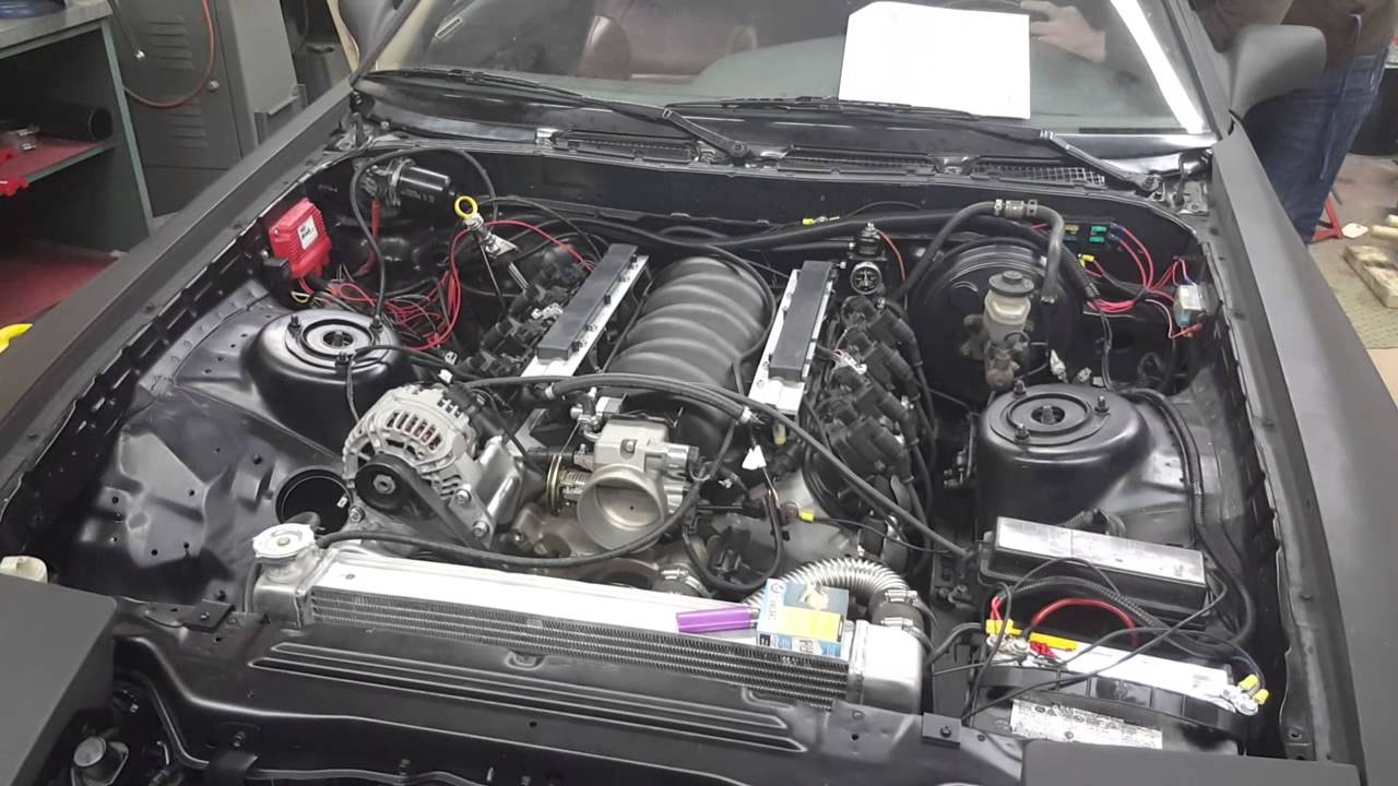 1987 Mk3 Toyota Supra 6 0l Ls Swap Update Youtube