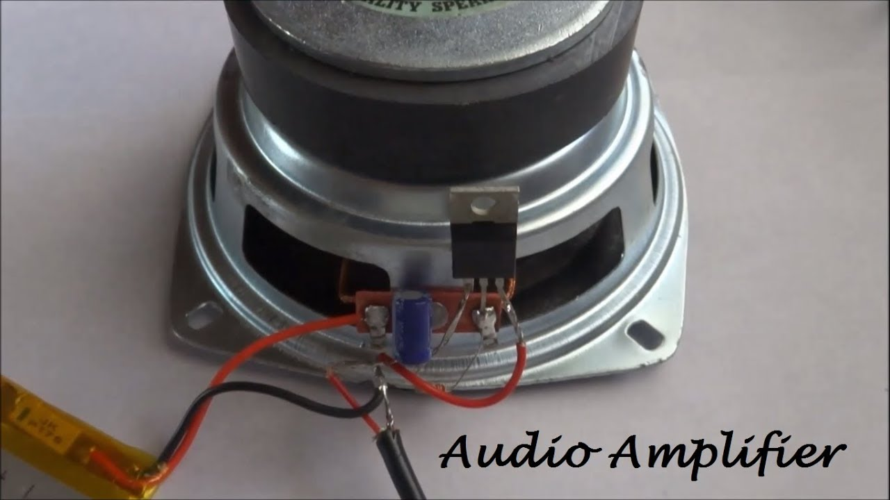 How To Make A Audio Amplifier With Bass Boost Youtube Transistor Circuit