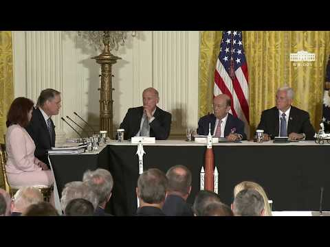National Space Council Meeting from the White House