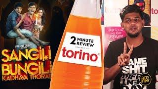 Sangili Bungili Kadhava Thorae | Jiiva | 2 Minute Review | Fully Filmy