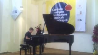 Concorso europeo di esecuzione musicale Jacopo Napoli - I edizione William Taurasi - 1 premio