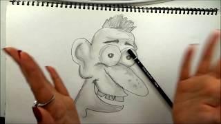 How to Draw a Cartoon with Eva Gleam - Part 1