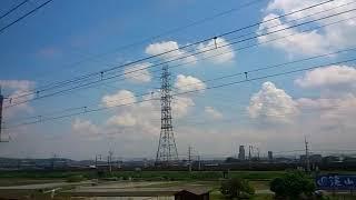 《車窓》東海道本線(京都線) 特急はるか16号 新大阪~京都