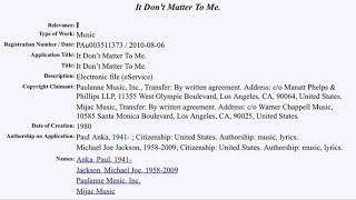 Dont Matter To Me- Michael Jacksons part(Acapella Snippet)