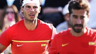 Rafael Nadal - Top 5 points in double