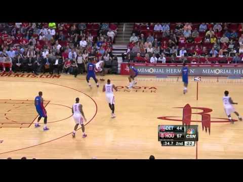 Detroit Pistons vs Houston Rockets | March 1, 2014 | NBA 2013-14 Season