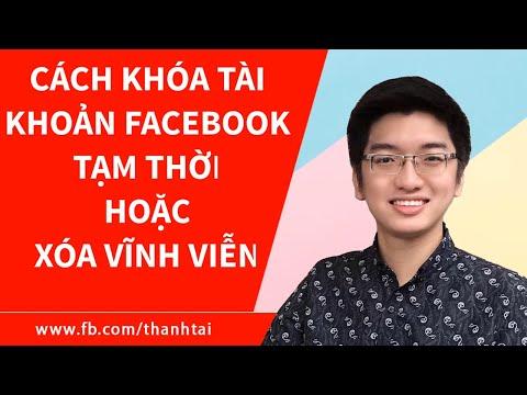 Cách khóa tài khoản Facebook tạm thời hoặc xóa vĩnh viễn khỏi Facebook   Foci