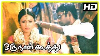 Oru Naal Koothu Tamil movie   scenes   Maangalyamae song   Ramesh-Nivetha and Dinesh-Mia unite