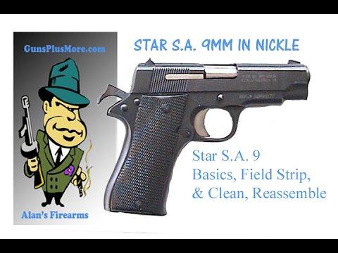 Star S.A. P 9mm Basics, Field Strip, Clean, Lube, & Reassemble