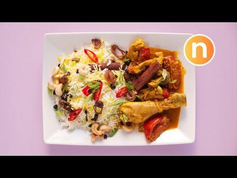 Nasi Briyani Ayam Malaysian Nasi Briyani Nasi Biryani Nasi Biriyani Nyonya Cooking