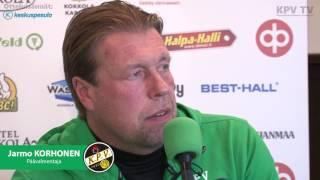 KPV - FC KTP la 15.10.2016 - Otteluennakko