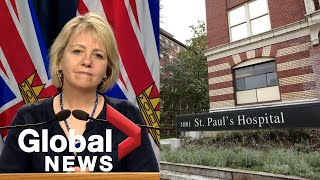 Coronavirus: B.C. reports 28 new cases of COVID-19, outbreak in neonatal care unit | FULL