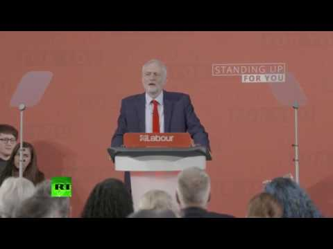 """Jeremy Corbyn: """"Labour's the party of the many not the few"""""""