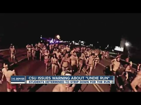 CSU issues warning about Undie Run