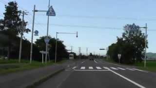【1.5倍速】遠軽市街~上湧別町の道の駅 まで2012年7月 国道242号