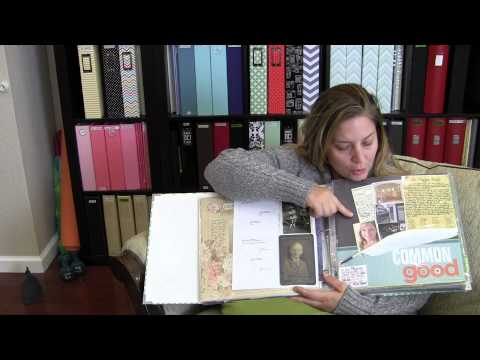 30 Days of Scrapbooking Videos / Day 3 / Part 3 / Family History Scrapbooking