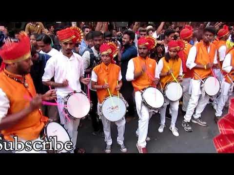 samna dhol tasha pathak @ श्री सिद्धीविनायक मंदिर माघी गणेश रथयात्रा सोहळा 2018