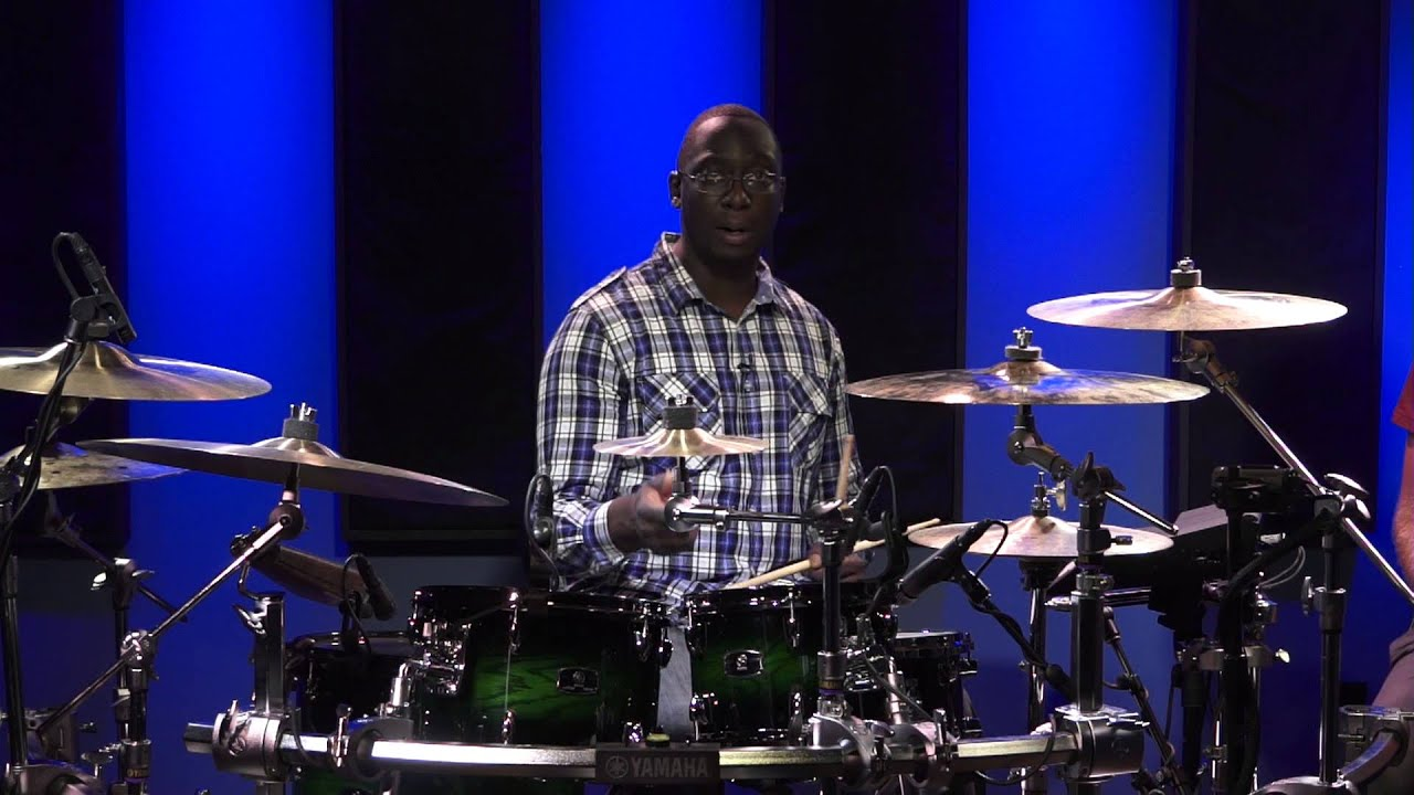 Gospel Drum Lessons - Larnell Lewis (FULL DRUM LESSON ...