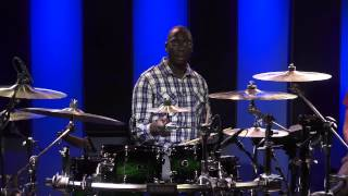 Gospel Drum Lessons - Larnell Lewis (FULL DRUM LESSON)(The Ultimate Online Drum Lessons Experience - http://Drumeo.com/trial -- 30-day free trial! In this lesson, we had the privilege to have Larnell Lewis out at our ..., 2013-09-18T16:23:28.000Z)