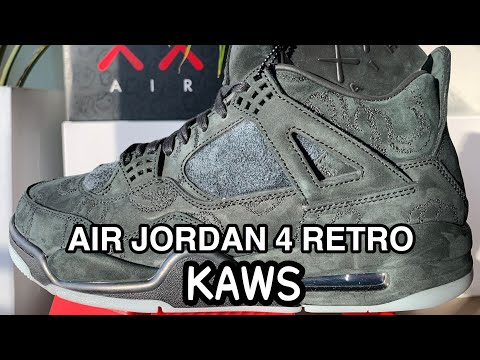 dc5f351c3f3 BEST UA JORDAN RETRO 4 KAWS REVIEW AND ONFEET! FANSKICKS