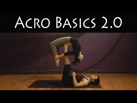 Acro Yoga Basics 2.0   Partner Yoga   Beginner   Taha Yoga w/ Stephen Beitler